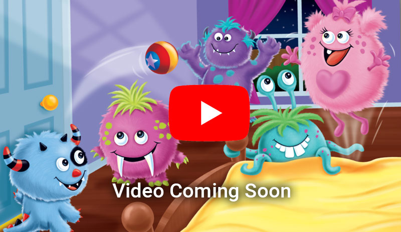video coming soon for Snuggle Monster Children's sleepytime book & plush doll