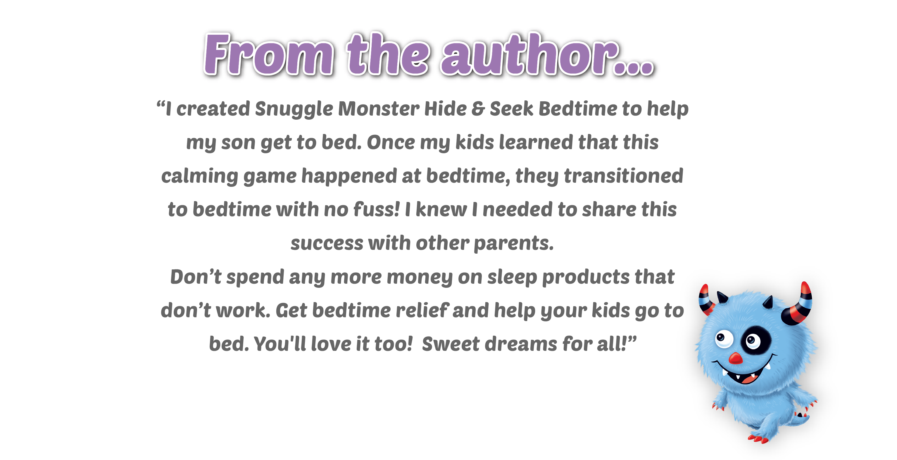 A note from the author