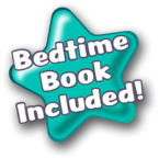 Snuggle Monster bedtime book included